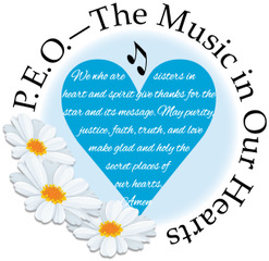 PEO The Music in Our Hearts Logo